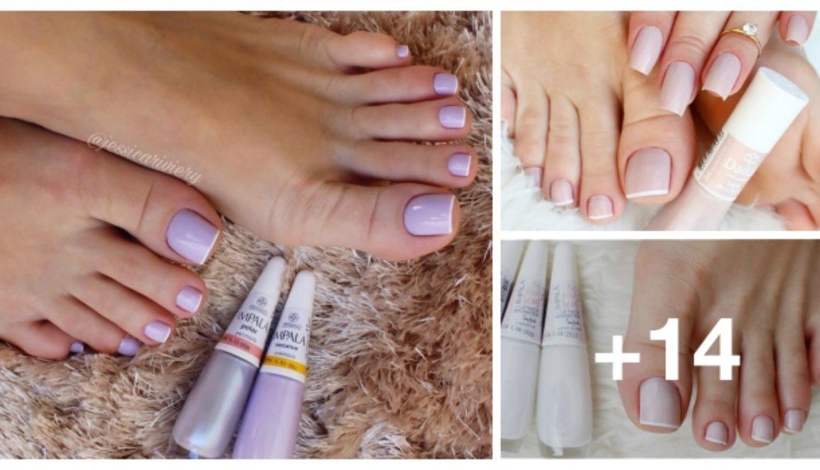 Melhores cores de esmaltes para unhas dos pés