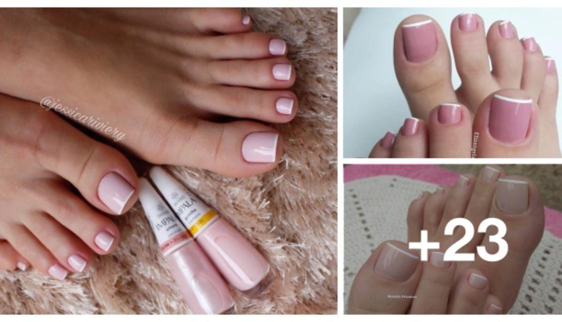 Unhas dos pés com cores e eamaltes perfeitos cover