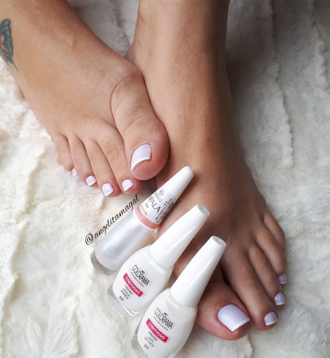 18 Combinações de esmalte brancos para a unha nunca manchar