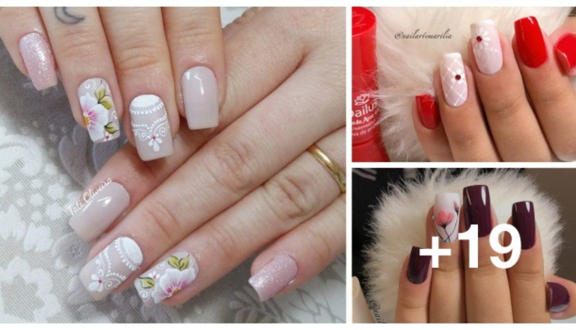 desenhos de unhas para você fazer em suas unhas