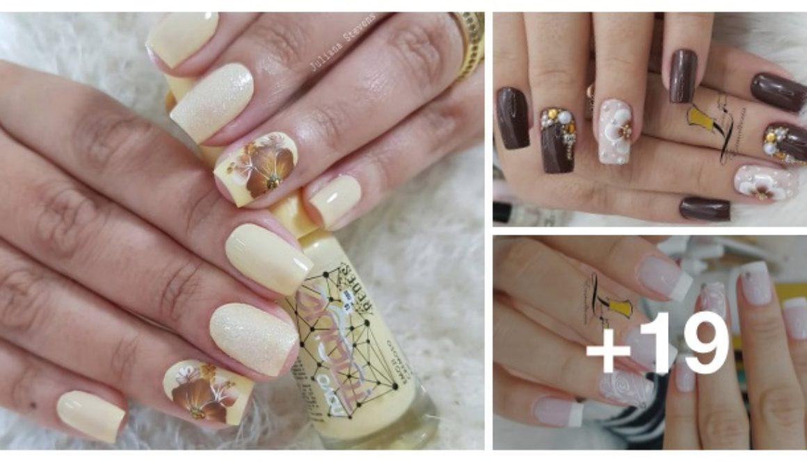 Fotos de unhas para madrinhas