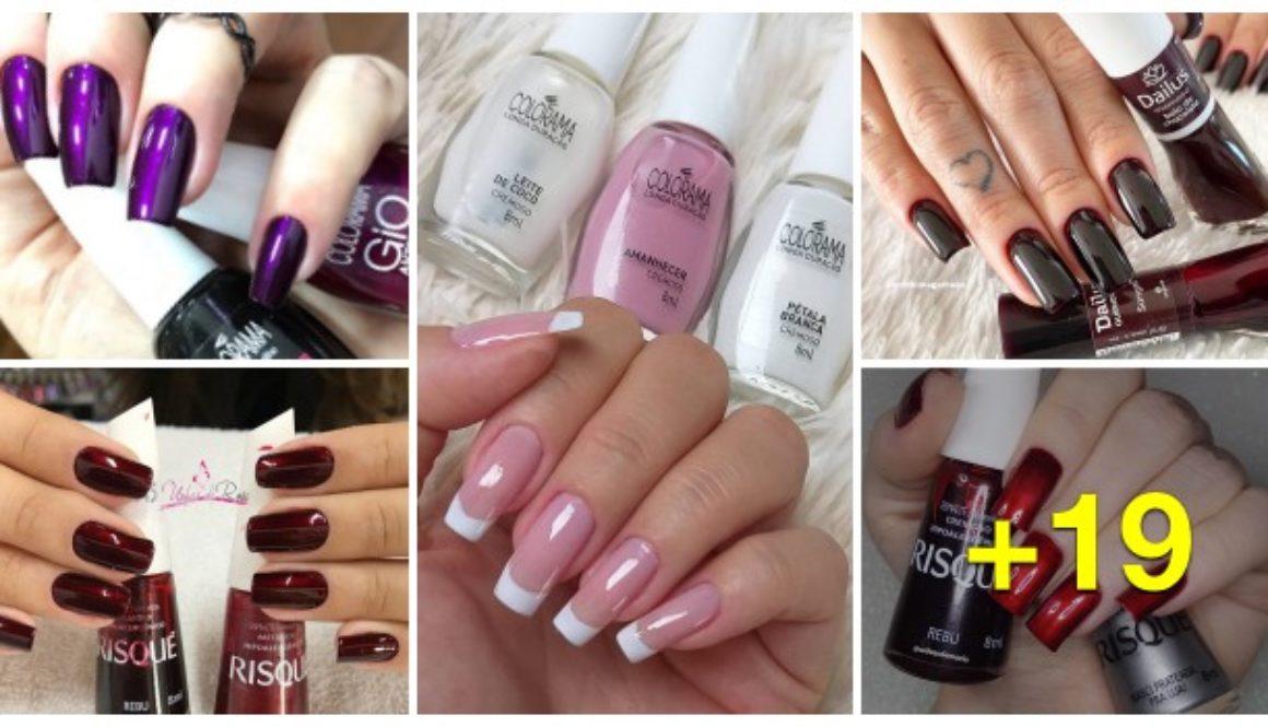 Combinações de esmaltes que vão deixar suas unhas perfeitas