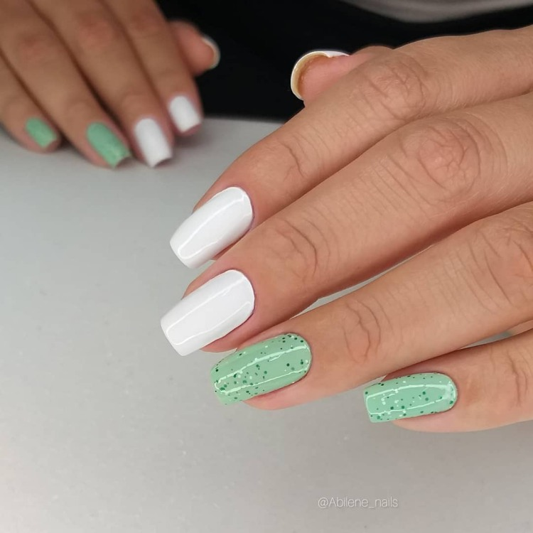 Decorações de unhas para a páscoa